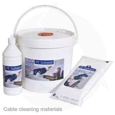 cable cleaning materials