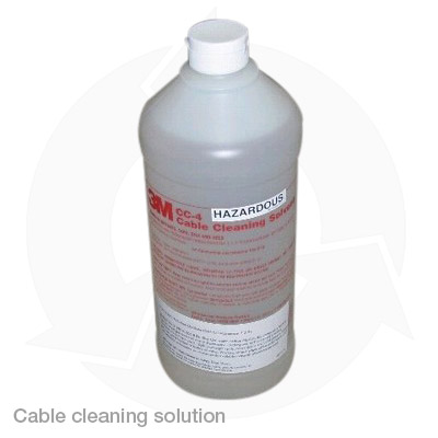 cable cleaning solution