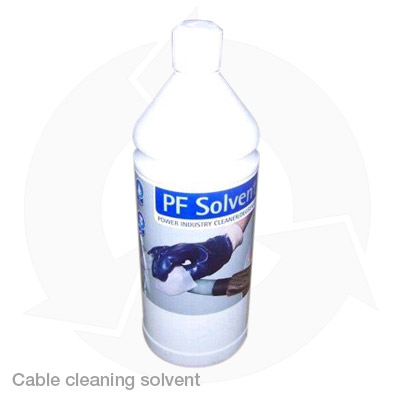 PF cable cleaning solvent