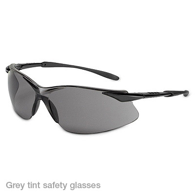 grey tint safety glasses