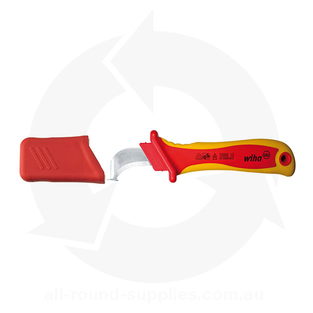 wiha 36053 insulated cable stripping knife