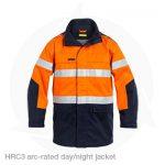 arc rate hivis jacket