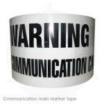 communication main marker tape