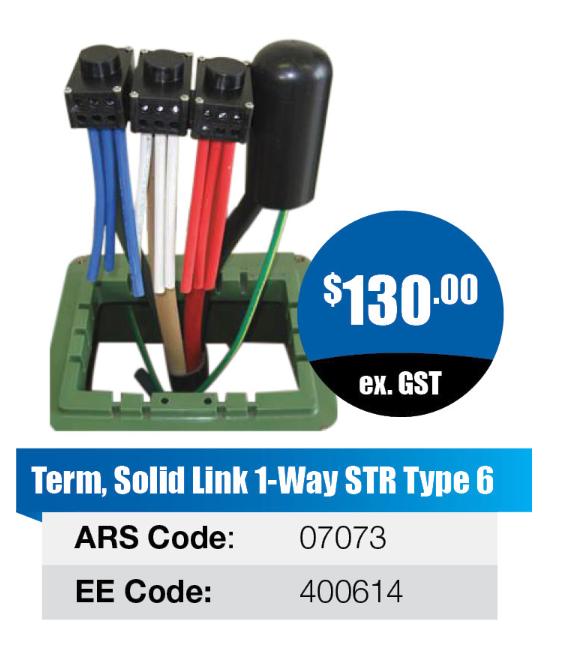 Solid Link 1-way STR Type 6