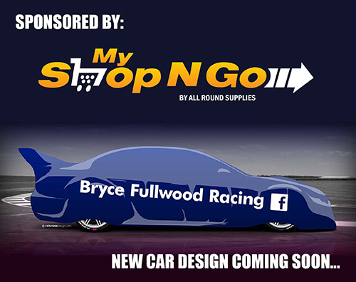 MyShopNGo sponsors Bryce Fullwood in the 2016 V8 Supercars Development Series