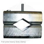 full pole heavy duty clamp