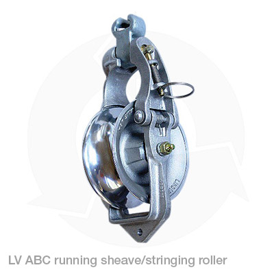 lv abc running sheave stringing roller