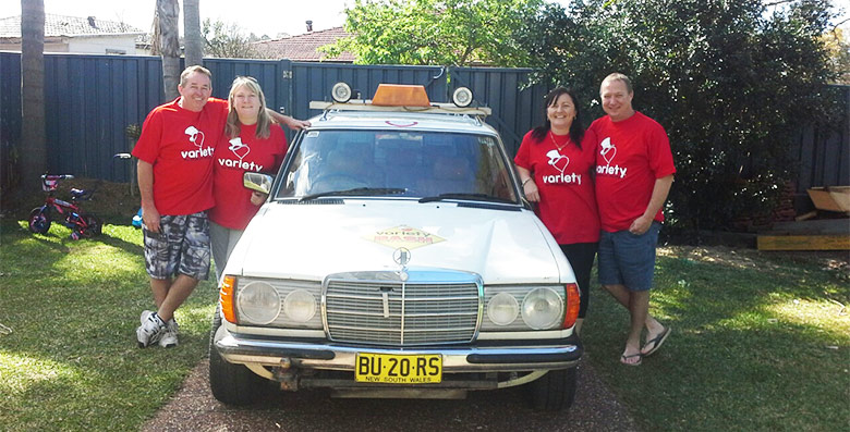 Newcastle Operations Team Leader Jacquie and her mates