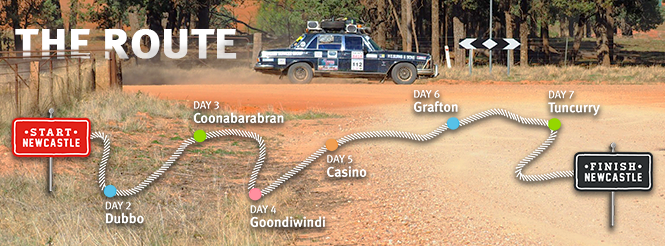 Variety NSW Bash route