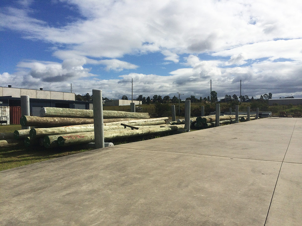 All Round Supplies timber poles 2