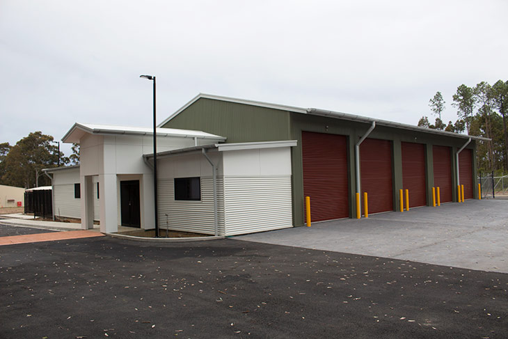 New Rural Fire Service Station outdoor