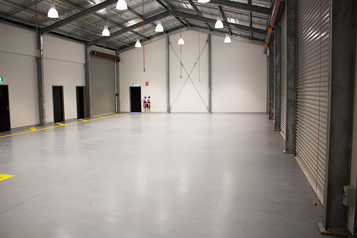 New Rural Fire Service Station indoor