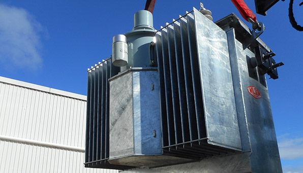 Wilson pole mounted transformer