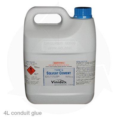 4 litre conduit glue
