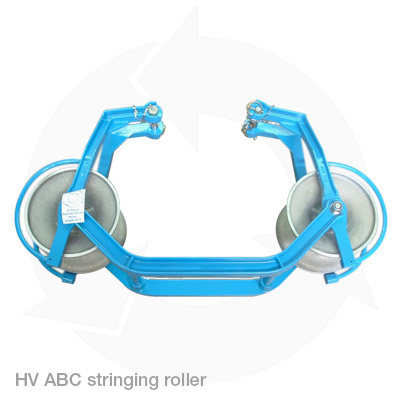 HV ABC running sheave stringing roller
