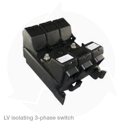 lv isolating 3 phase switch