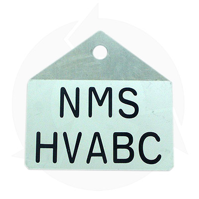 NMS HV ABC labels