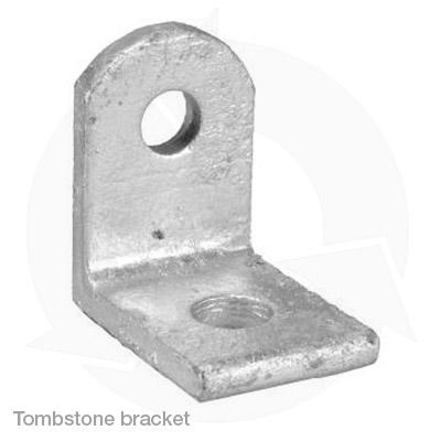 angle bracket tombstone