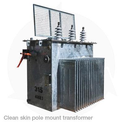 clean pole transformer