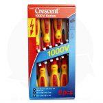 crescent 1000v 8-piece screwdriver set insulated