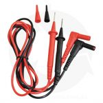 digital clamp meter test leads