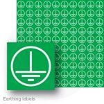 Earthing label