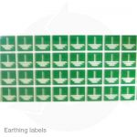 Earthing labels