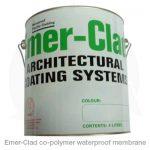 Emer-Clad copolymer waterproof membrane