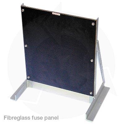 Fibreglass blank fuse panel