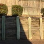 galvanised pole caps fence posts