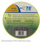 green pvc electrical tape