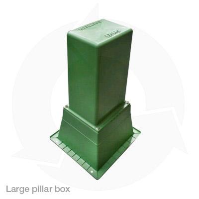 large pillar box