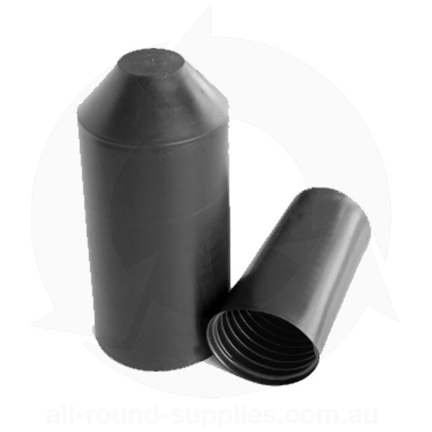 Lined heatshrink cap