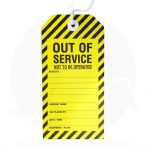out of service safety tags