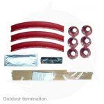 Outdoor termination kits