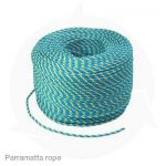 Parramatta telstra blue yellow rope