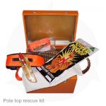 pole top rescue kit in hard box