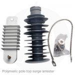 polymeric pole top surge arrestor