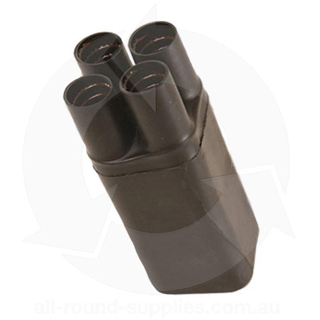 Raychem four finger heatshrink glove breakout