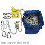 rope temporary static line kit