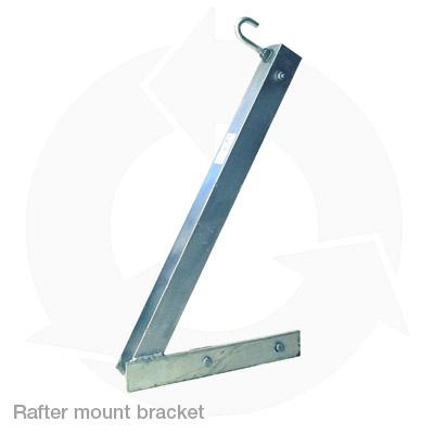 single leg rafter mount poa bracket 450mm