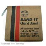 strainless steel branding