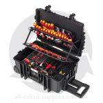 wiha 115-piece electricians case