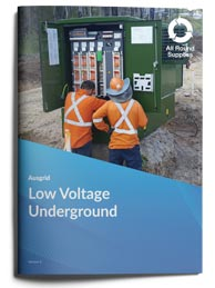 low voltage underground brochure ausgrid
