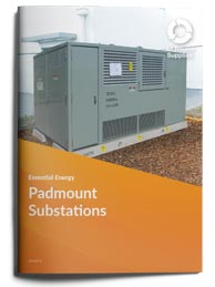 padmount substation essentail energy brochure