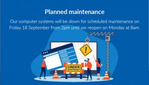 Maintenance Notice