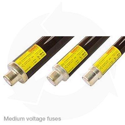 Medium voltage cannister fuses