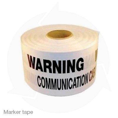 Communications marker tape