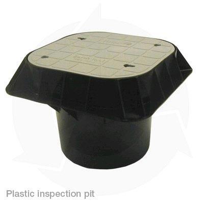 Plastic inspection pit