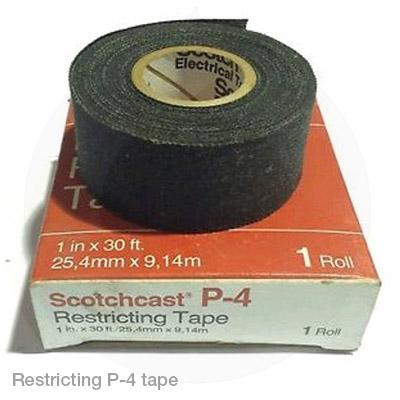 Restricting P4 tape